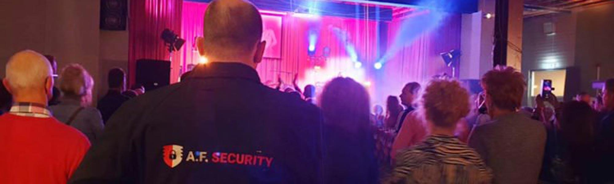 Professionele beveiliging - Beveiligingsbedrijf A.F. Security Winschoten