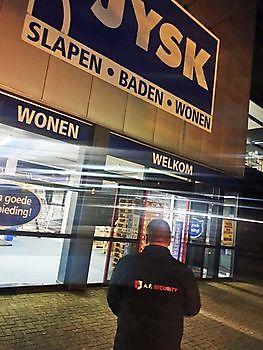 Flinke storm met veel schade in Winschoten Beveiligingsbedrijf A.F. Security Winschoten